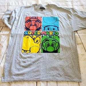 💙Super Mario and friends Colorful T-Shirt 2XL